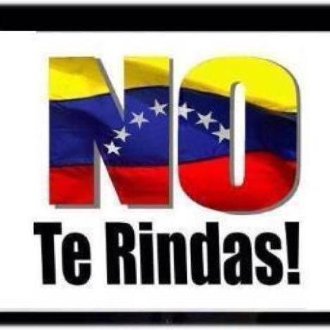 Venezolanos en franca lucha para desterrar la Dictadura de su pais