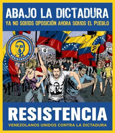 YA NO SOMOS OPOSICION, AHORA SOMOS EL PUEBLO! RESISTENCIA.